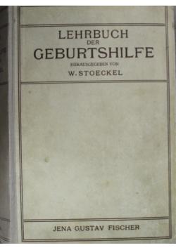Lehrbuch der Geburtshilfe  1920 r.