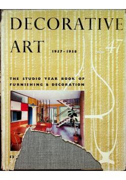 Decorative art 1957 1958