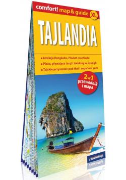Tajlandia 2w1 Przewodnik i mapa