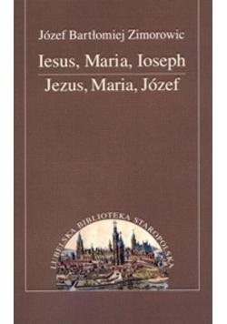 Iesus, Maria, Ioseph