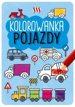 Kolorowanka Pojazdy