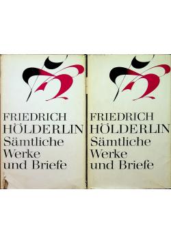 Friedrich Holderlin Samtliche Werke und Briefe Tom III i IV