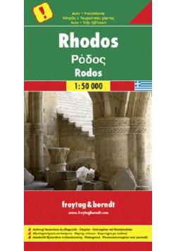Mapa samochodowa Rhodos