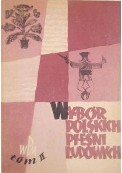 Wybór polskich pieśni ludowych Tom II