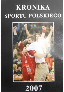 Kronika sportu polskiego 2007