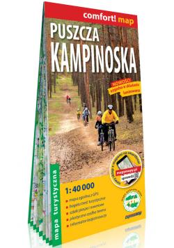 Puszcza Kampinoska laminowana mapa turystyczna 1:40 000