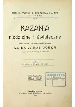 Kazania niedzielne i świąteczne 1906 r