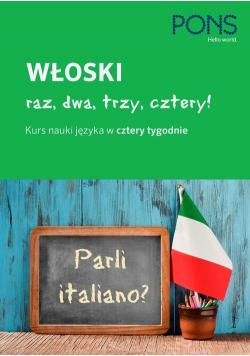 Włoski raz dwa trzy cztery książka plus 2 CD