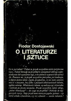 O literaturze i sztuce