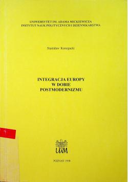 Integracje Europie w dobie postmodernizmu