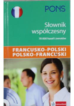 Słownik współczesny francusko polski polsko francuski