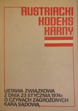 Austriacki kodeks Karny