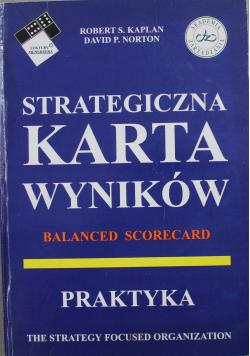 My Balanced Scorecard Moja strategiczna Karta Wyników