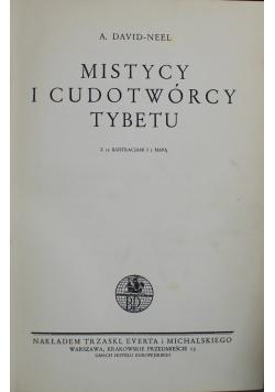 Mistycy i cudotwórcy Tybetu 1936 r