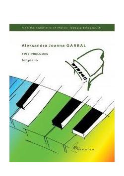 Five Preludes na fortepian