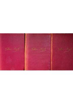 Asnyk Pisma 3 tomy 1924 r.