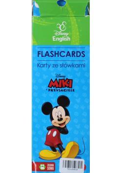 Flashcards Karty ze słówkami Miki i przyjaciele