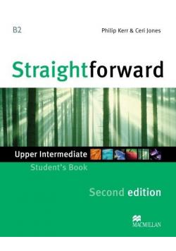 Straightforward 2nd ed. Upper Intermediate B2 SB