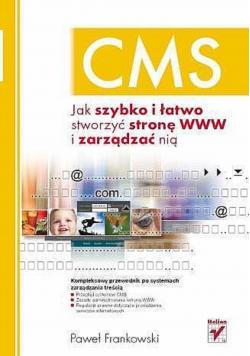 CMS Jak szybko i łatwo stworzyć stronę  www i zarządzać nią