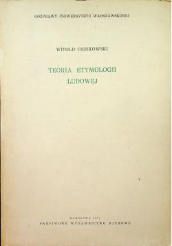 Teoria etymologii ludowej
