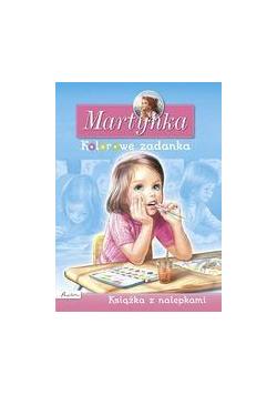 Martynka. Książka z nalepkami. Kolorowe zadanka