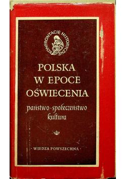 Polska w epoce oświecenia