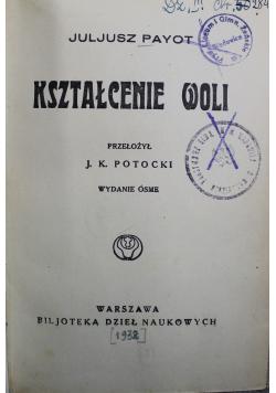 Kształcenie woli 1932r