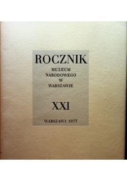 Rocznik muzeum narodowego w Warszawie XXI