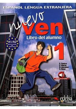 Ven Nuevo 1 podręcznik + audio online EDELSA