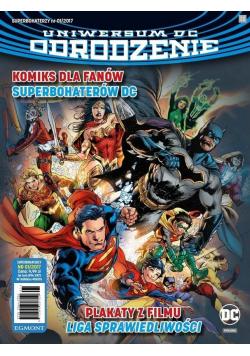 Superbohaterzy 1/2017 Uniwersum DC Odrodzenie