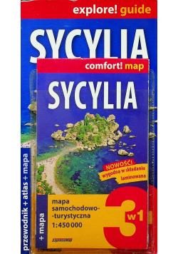 Sycylia przewodnik  plus atlas plus mapa