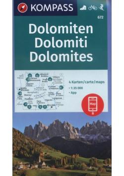 Dolomiten 1:35 000 Kompass