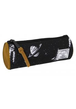Piórnik tuba czarny Kosmos PAUL&CO