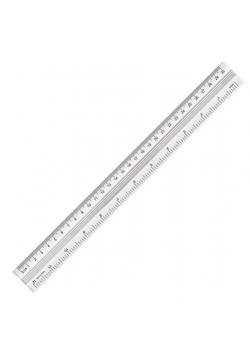 Linijka aluminiowa 30cm YN TEEN