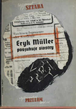 Eryk Muller poszukuje siostry  1946 r