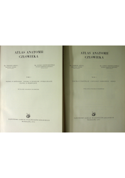 Atlas anatomii człowieka 2 tomy