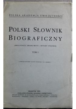 Polski słownik biograficzny tom I Reprint z 1935 r.