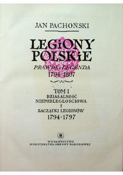 Legiony polskie prawda i legenda 1794 1807
