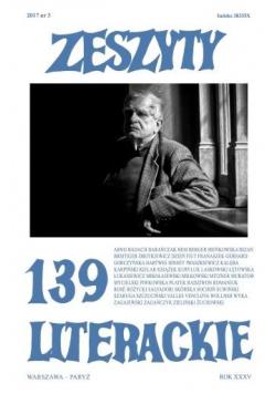Zeszyty literackie 139 3/2017