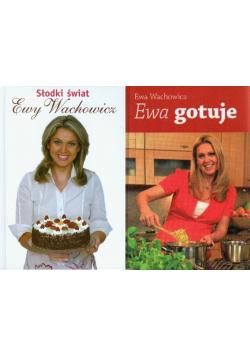 Pakiet  Ewa gotuje Słodki świat Ewy Wachowicz