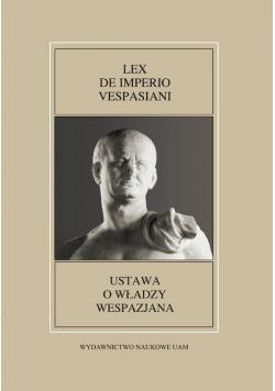 Fontes Historiae Antiquae XLIX: Lex de imperio Vespasiani