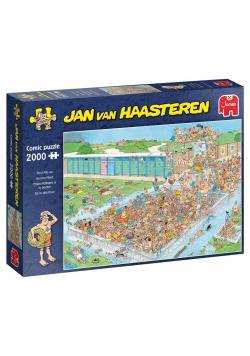 Puzzle 2000 Haasteren Tłumy na basenie G3