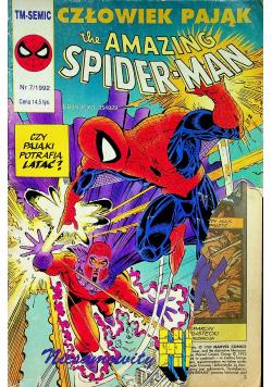 Człowiek pająk the amazing Spiderman Nr 7