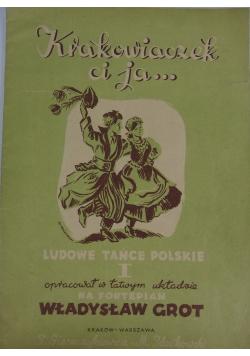 Krakowiaczek ci ja  Ludowe tańce polskie I   1947r