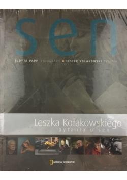 Sen Leszka Kołakowskiego pytania o sen
