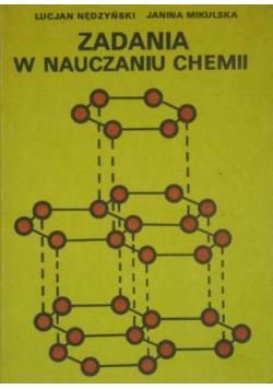 Zadania w nauczaniu chemii