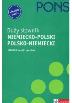 Duży słownik niemiecko - polski polsko - niemiecki
