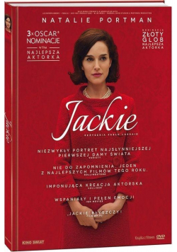 Jackie DVD + ksiażka