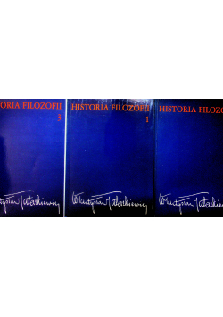 Historia Filozofii Tom I do III
