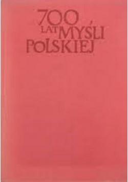 700 lat myśli Polskiej